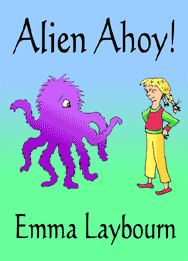 The cover of Alien Ahoy by Emma Laybourn, a free downloadable children's story