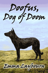 The cover of Doofus Dog of Doom, a free kids' adventure ebook