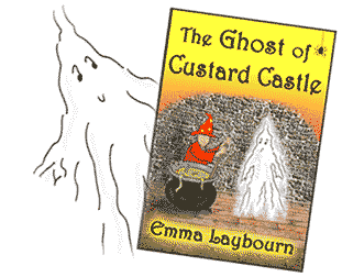 The cover of the ebook: The Ghost of Custard Castle, 6 illustrated stories for young children