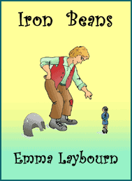 The cover of Iron Beans, a free story about a giant by Emma Laybourn