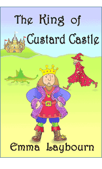 the cover of The King of Custard Castle, 
