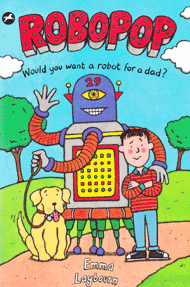 the cover of the children's book Robopop by Emma Laybourn