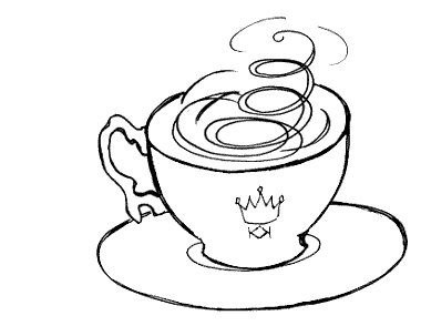 A little storm is brewing in the King's teacup